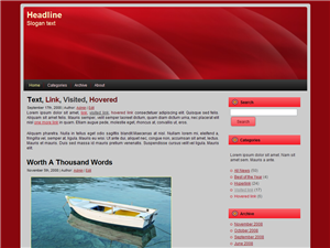 woman-in-red-free-wordpress-theme